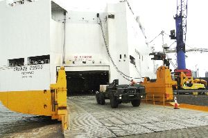 Ro - Ro loading - carriage of vehicles overseas